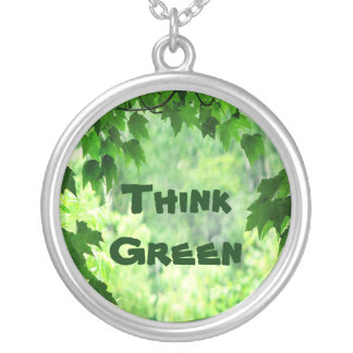 Leafy Think Green Pendant