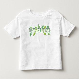 Leafy Treehugger Kids T-Shirt