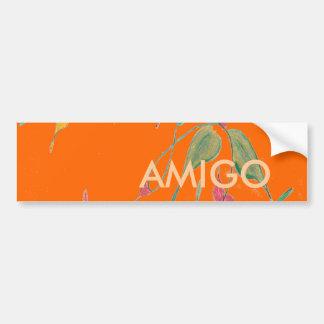Leafy Vine Sunkissed Amigo Bumper Sticker