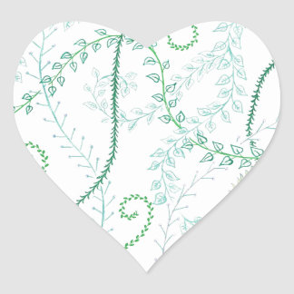Leafy vines stickers