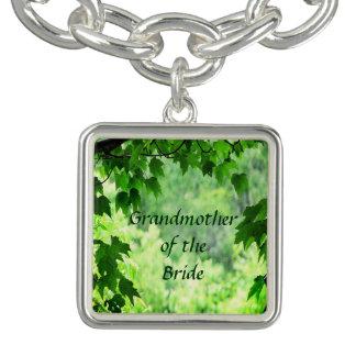 Leafy Wedding Grandmother of the Bride