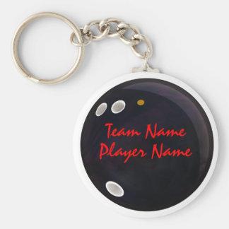 League Bowlers Key Ring