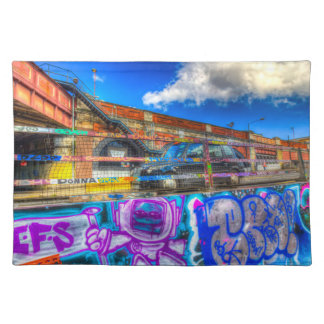 Leake Street and London Taxi Placemat