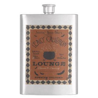 Leaky Cauldron Lounge Halloween Flask