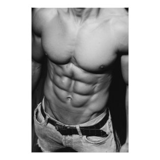 Lean Abs Poster