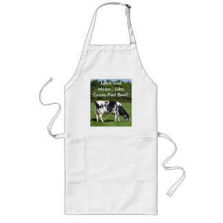 Lean and Mean. Long Apron
