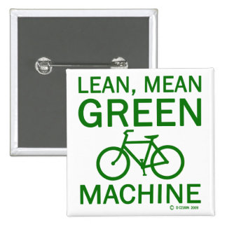 Lean Green Mean Machine Pins