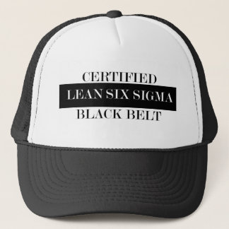 Lean Six Sigma Black Belt Hat