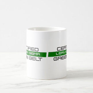 LEAN Six Sigma Green Belt Coffee Mug