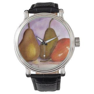 Leaning Pear Wrist Watch