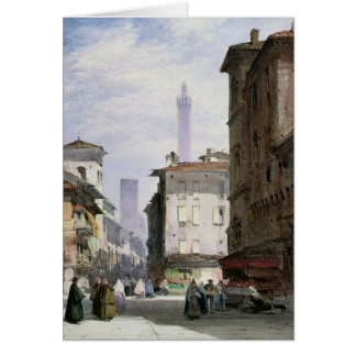 Leaning Tower, Bologna Card