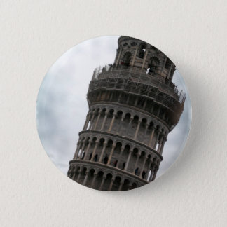 Leaning Tower of Pisa 6 Cm Round Badge