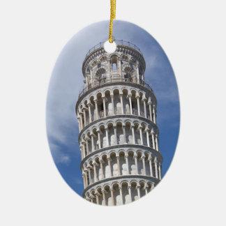 Leaning Tower of Pisa Ceramic Ornament
