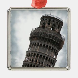Leaning Tower of Pisa Christmas Tree Ornaments