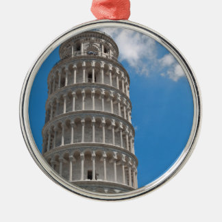 Leaning Tower of Pisa in Italy Metal Ornament