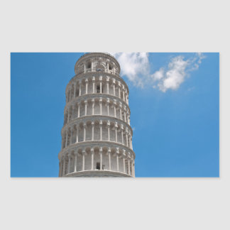 Leaning Tower of Pisa in Italy Rectangular Sticker