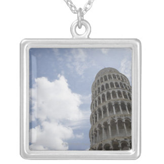 Leaning Tower of Pisa, Italy 3 Silver Plated Necklace