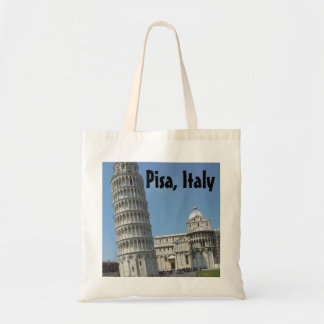 Leaning Tower of Pisa Italy Budget Tote Bag
