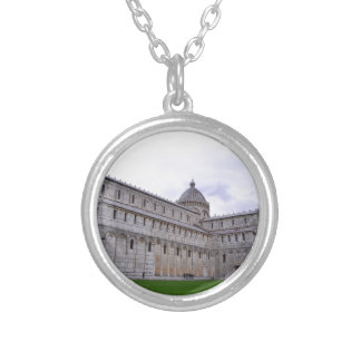 Leaning Tower of Pisa,Italy Silver Plated Necklace