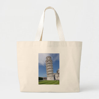Leaning Tower of Pisa Large Tote Bag