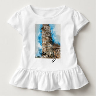Leaning Tower of Pisa Toddler T-Shirt