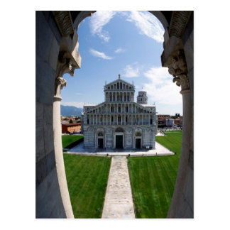Leaning Tower Pisa, Italy Postcard