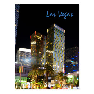 Leaning Towers of Las Vegas Postcard