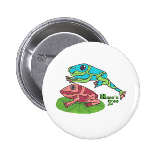 Leap Frog 6 Cm Round Badge