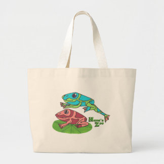 Leap Frog Tote Bags