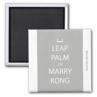 Leap Palm or Marry Kong Magnet