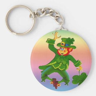 Leapin Leprechaun Key Chain