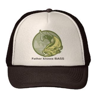 Leaping Bass Trucker Hat