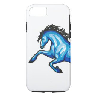 Leaping Blue Horse iPhone 7 Case