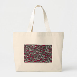 Leaping Borzoi Large Tote Bag