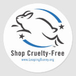 Leaping Bunny Shop Cruelty-Free Stickers