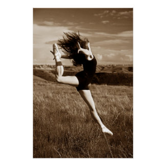 Leaping Dancer Poster
