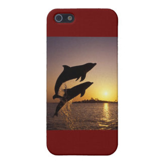 Leaping dolphins cover for iPhone 5