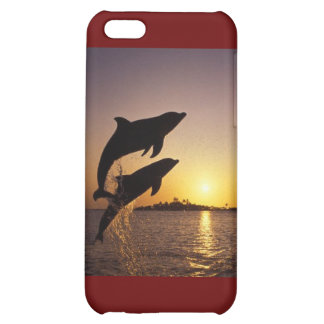 Leaping dolphins cover for iPhone 5C