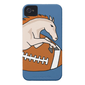 Leaping Horse or Colt on Football iPhone 4 Case