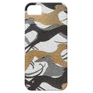 Leaping Hounds Barely There iPhone 5 Case