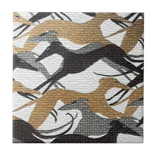Leaping Hounds Tile