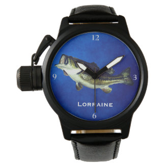Leaping Largemouth Bass Watch