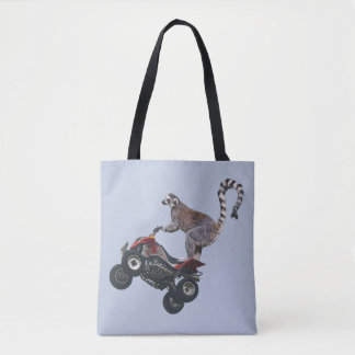 Leaping Lemur All Over Print Bag