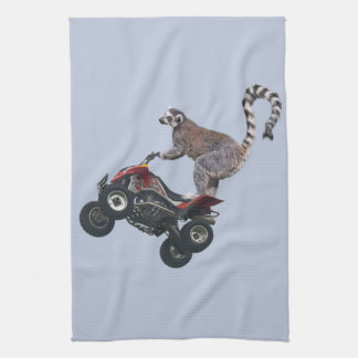 Leaping Lemur Kitchen Towel