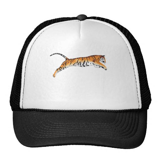 Leaping Tiger Mesh Hat