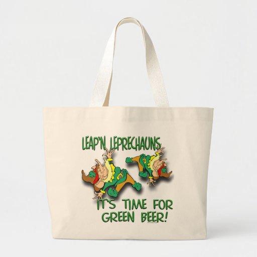 Leap'n Leprechauns Canvas Bag