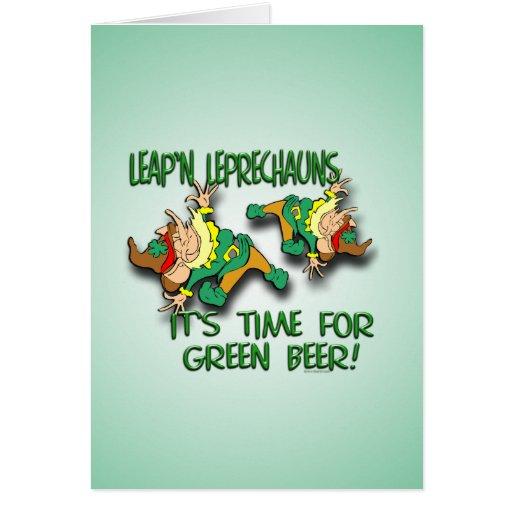 Leap'n Leprechauns Cards