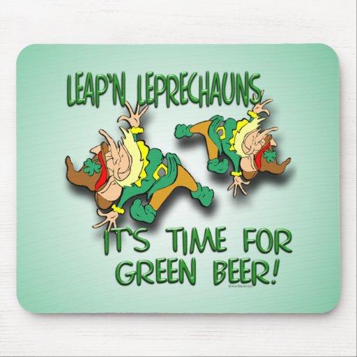 Leap'n Leprechauns Mouse Pad
