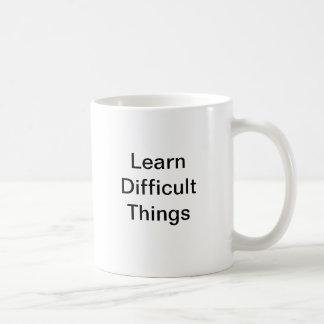 Learn Difficult Things Mug
