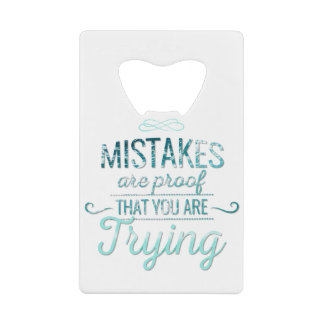 Learn from mistakes motivational typography quote